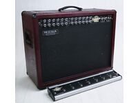 Superb! Mesa Boogie Road King Mk II 2 x 12 Combo Dark Red & Footswitch