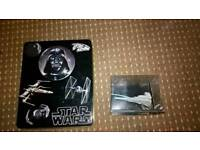 Star Wars Tin and Ship figure