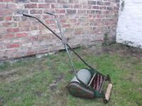 Vintage retro Webb push lawn mower - working or for display