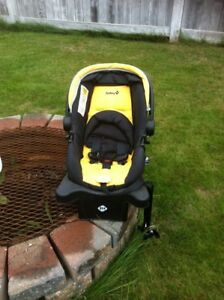 Safety Stroller with car seat