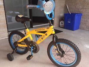 Vélo pour enfants 16 pouces aux couleurs des Minions