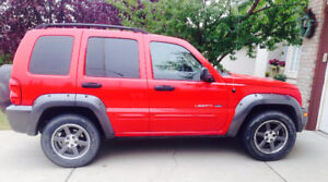 2003 Jeep Liberty SUV, Crossover (Rocky Mountain Edition)