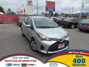 2015 Toyota Yaris LE   GAS SAVER   LOW KM   MUST SEE