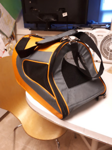 Soft-sided, airline approved pet carrier!