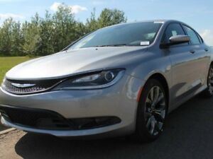 2016 Chrysler 200 S - HEATED STEERING WHEEL - LEATHER - REAR BAC