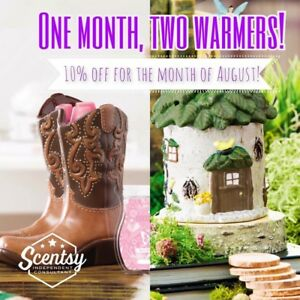 One month, two warmers!!!