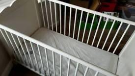 Baby Cot and mattress brand new