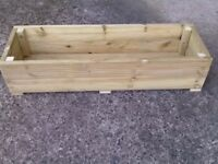 Handmade Large Decking Planters Length, 1.2m (4ft)