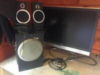 Monitor & Speakers