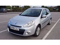 Renault Clio 2010 1.2 Petrol 3 Door Hatchback (Silver) - Excellent Condition! Low Mileage!