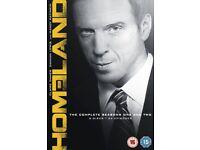 Homeland DVD series 1 and 2 box set