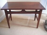 Teak Effect Coffee/Lamp Table