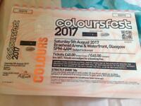 Coloursfest tickets