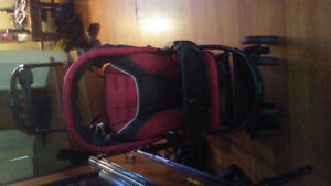 Toddler and baby stroller as one for sale