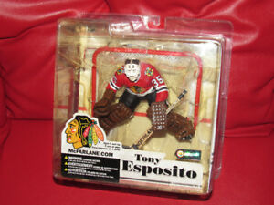 McFarlane Legends TONY ESPOSITO Chicago Blackhawks Figure K6#