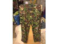 Army trousers.