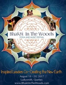 Bhakti in the Woods Yoga and Music Festival