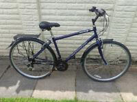professional hybrid aluminium bike ready to ride
