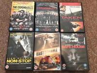 Various DVD and Blu Ray