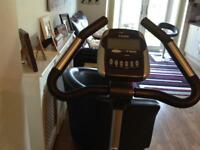 Electric exercise bike.