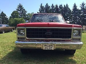 1979 Chevy C 10 pickup , no registration