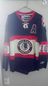 Chicago Blackhawks Winter Classic (2010) jersey MED #10 - SHARP