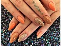Insured and certified nail technician, home based in Handsworth