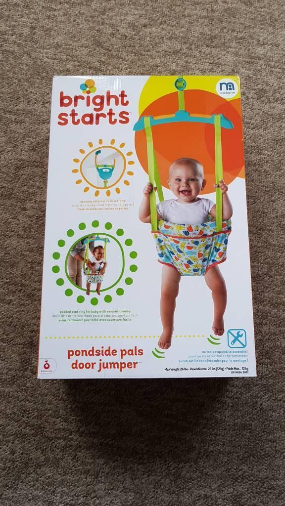 88b33cf6a8c7 Brand New Bright Starts Door Jumper