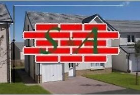 Bricklaying Squads Required for Greenock, Glasgow and Coatbridge