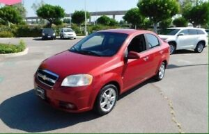 2009 Chevy Aveo LT Special Edition