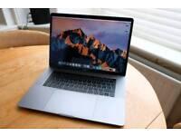 "MacBook Pro 15"" Space Grey 512gb 2.9 i7 Top Spec As New"