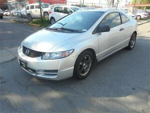 HONDA CIVIC DX-G 2009 COUPÉ **GARANTIE 1 ANS OU 15000KM INCLUS**