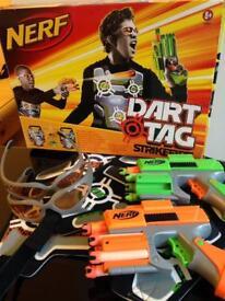 Nerf gun dart tag strike fire