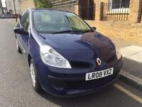 Renault Clio1.2 petrol2008/Long MOT/Service History/2 owners/Quick sale