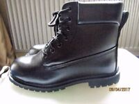 Steel toe capped work boots size 10