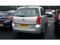 vauxhall zafira 1.6 genuine warranty millage 12mont mot hpi clear