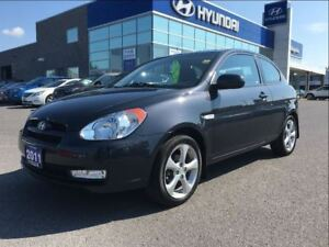 2011 Hyundai Accent L Sport Extended Warranty to 160, 000Kms*