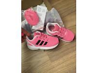 Genuine adidas baby flux bnwt 5.5
