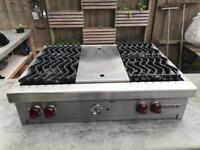 """Wolf 36"""" Sealed Cooker Hob"""