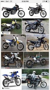 Looking for a 2001 Suzuki DR650 exhaust and parts