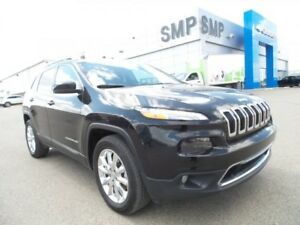 2016 Jeep Cherokee Limited - Heated Leather, NAV, Remote Start