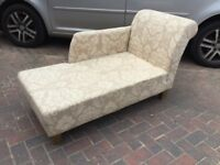 NEUTRAL COLOURED CHAISE LONGUE