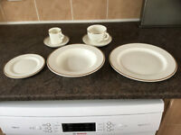 full set plus spares dinner tea coffee set.