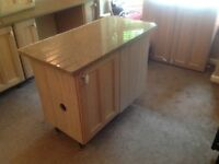 Kitchen units & granite worktop Kent available 14/8
