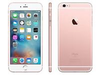 apple iphone 6S plus 16gb in rose gold unlocked
