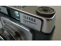 ilford sportsman ( circa 1962 ) 35 mm film camera