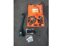Black & Decker VersaPak Cordless Tool Set (Drill/driver, sander, saw, torch) and Garden Strimmer