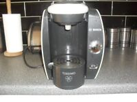 Bosch Tassimo coffee machine (fidelia model). Large water capacity, easy to use, full working order