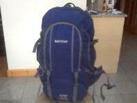 Terrific Karrimor Global SA Supercool 50 to 70litre expander travel rucksack-side amd bottom opening