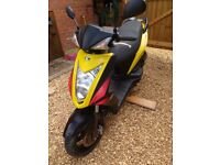 Kymco Agility RS 50. 2009. £400 OVNO